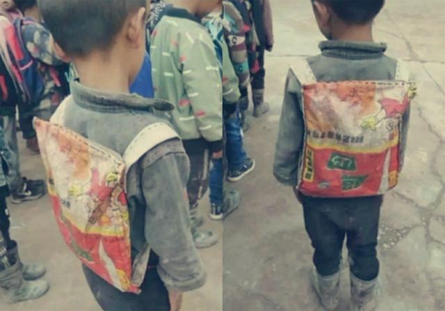 穷人家的孩子图片