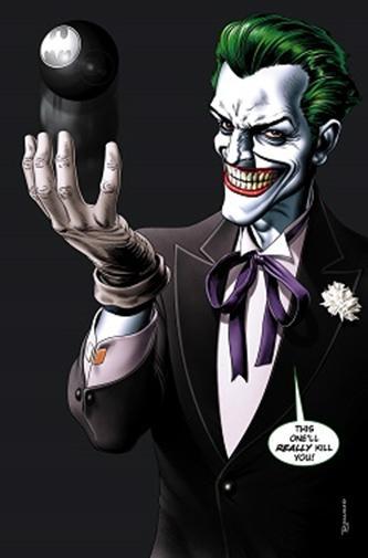 帅气动漫小丑男头像