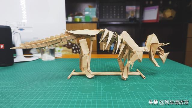 古代龙折纸教程完整