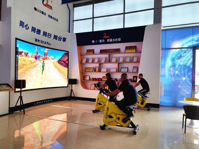 燃爆了!强力巨彩郑州LED显示旗舰店盛大开业