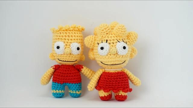 吼吼吼好可爱,钩针编织的小玩偶,你喜欢哪一个?附编织图解哦