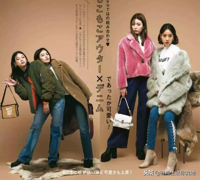 不论是长大衣还是短外套,搭配一条阔腿裤,显瘦又有女神气场