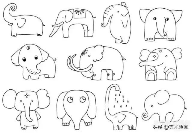 小动物简笔画大全教程