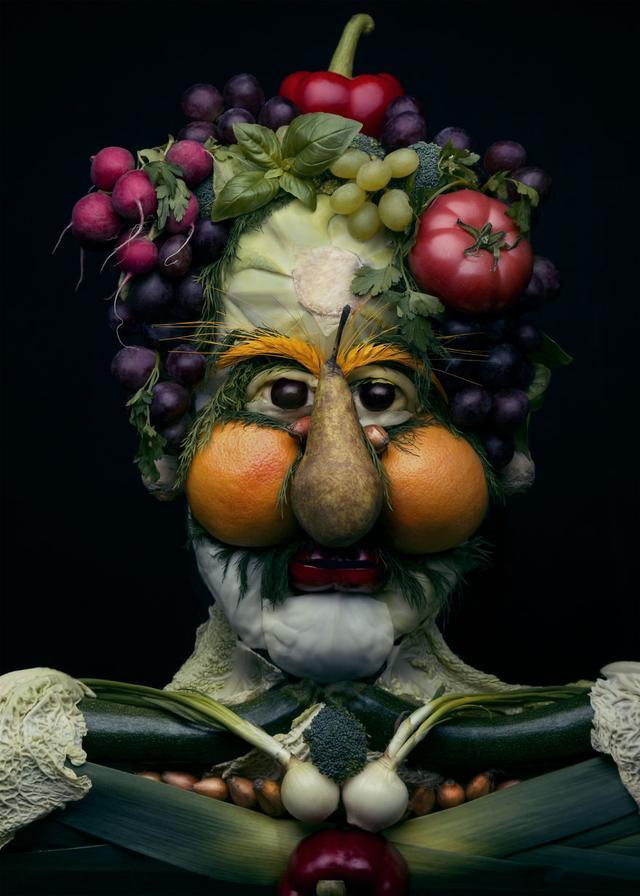 简单蔬菜水果作品
