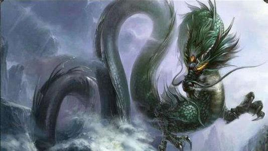 之所以现在还没人发现龙,会不会是龙藏着在深海里