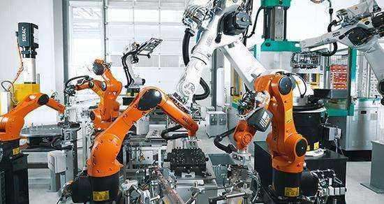 智能工厂模拟仿真动图