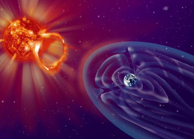 太阳大气层结构图
