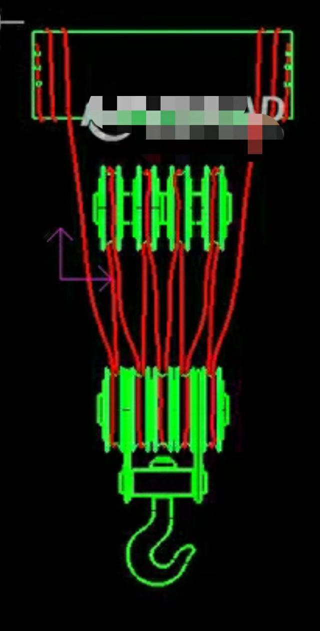 双梁桥式起重机电路图