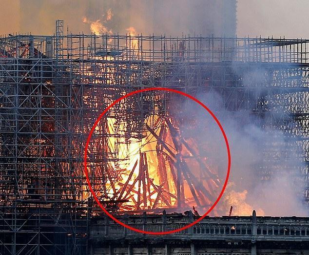 巴黎圣母院耶稣现身