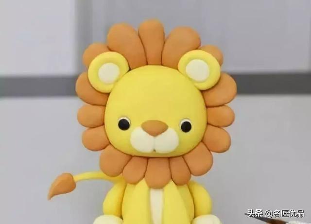 狮子卡纸手工制作