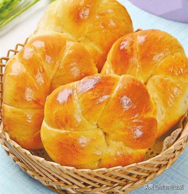 最详细的面包配方,1台机器就搞定,柔软香甜又营养,吃不够