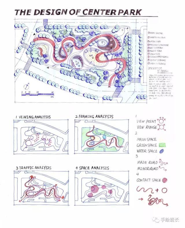 小区绿化设计平面图 图片素材_红动手机版