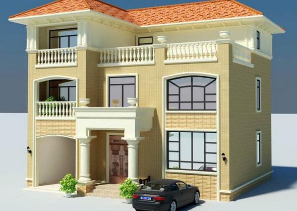 农村120平方二层半别墅设计 建造时要注意什么?