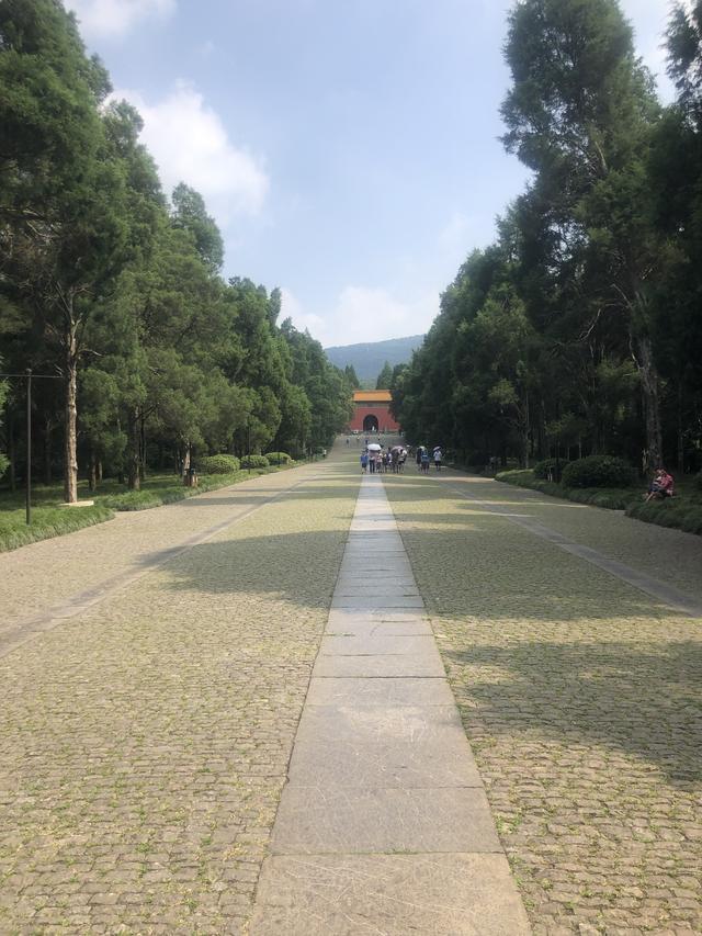 南京随游:去明孝陵赏一场绝美的秋色