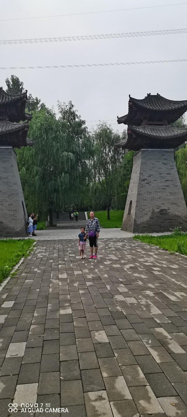 西部长青柳仙谷风景照