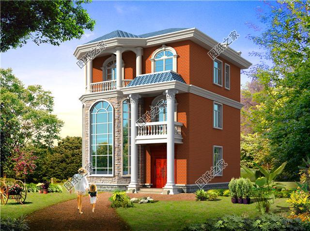 三层别墅图纸及效果图