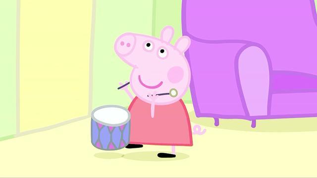 小猪佩奇乔治情侣头像