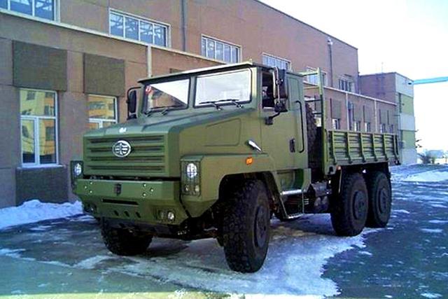 中国在售的乌拉尔卡车