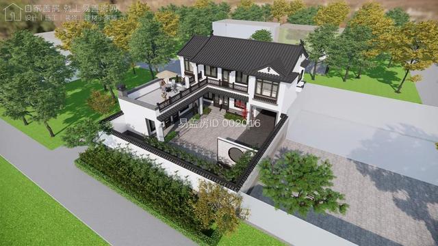 中式农村房屋设计图