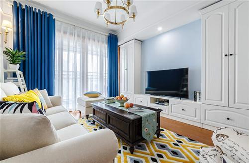 80平米小户型装修效果图 80平米打造清新北欧两居室