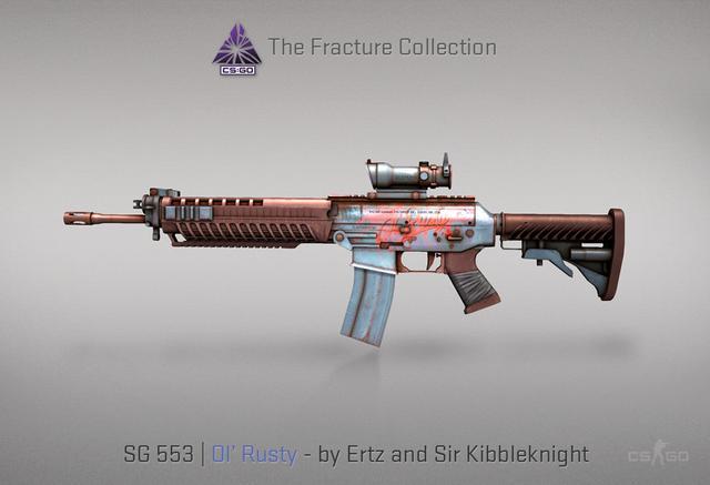 CSGO推出全新裂空武器箱,配色精良细节拉满