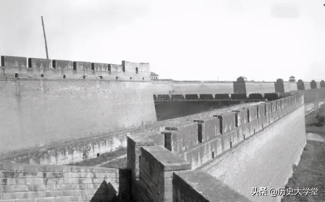 节假日西安城墙图片