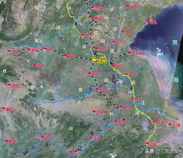 淮海战役第一阶段地图