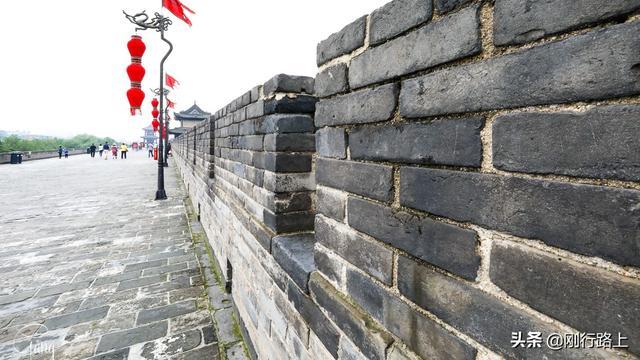 古城西安城墙图片