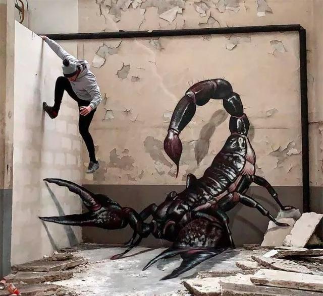济南3D立体画手绘墙-炫壁画写实立体墙体彩绘国外优... _新浪博客