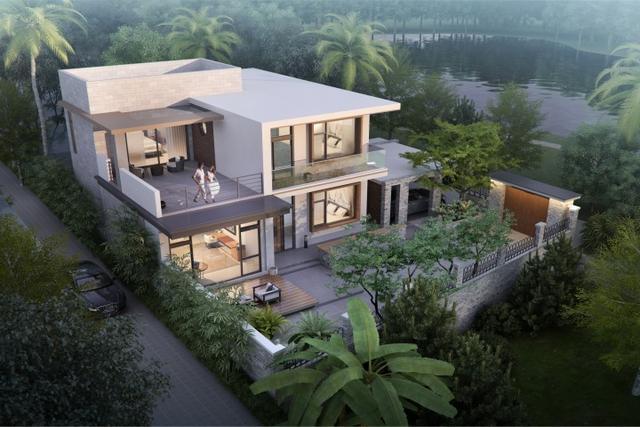 现代二层小别墅设计图