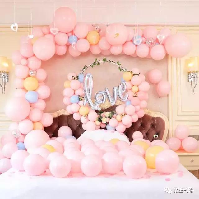 婚庆气球如何布置 浪漫婚礼气球装饰效果图欣赏_齐家网