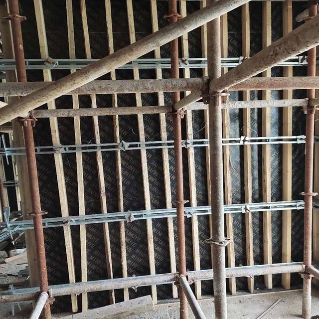 剪力墙模板钢背楞加固件组装方法及相关注意事项