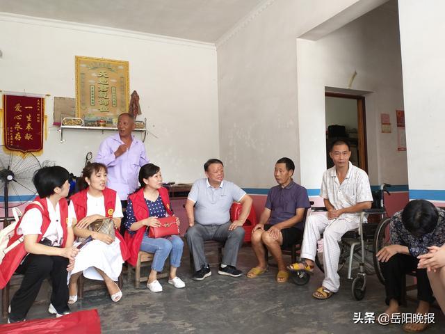 岳阳晚报追踪:爱心志愿者接连看望邹陇根及其家人,总有一种力量让我们泪流满面-第1张图片-河津科技资讯网