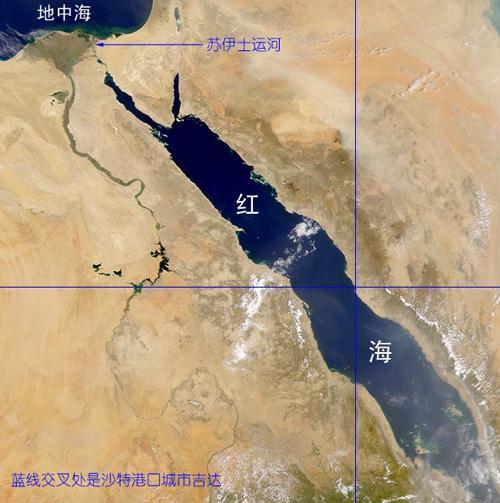 苏伊士运河沟通了什么海和什么海,苏伊士运河现今谁控制