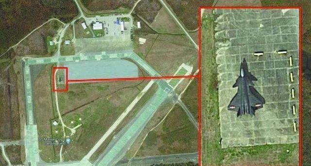 为了把歼20战机研究透,美国人下了一番狠功夫,卫星图片暴露野心