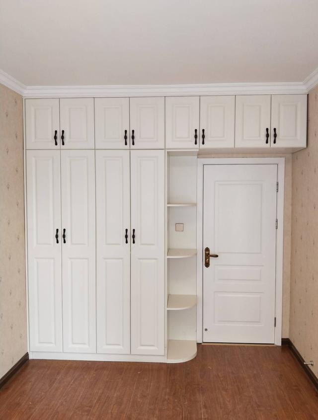15张卧室定制衣柜实拍图,留用参考!