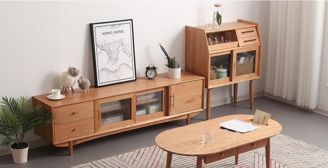 实木家具摆设图片欣赏