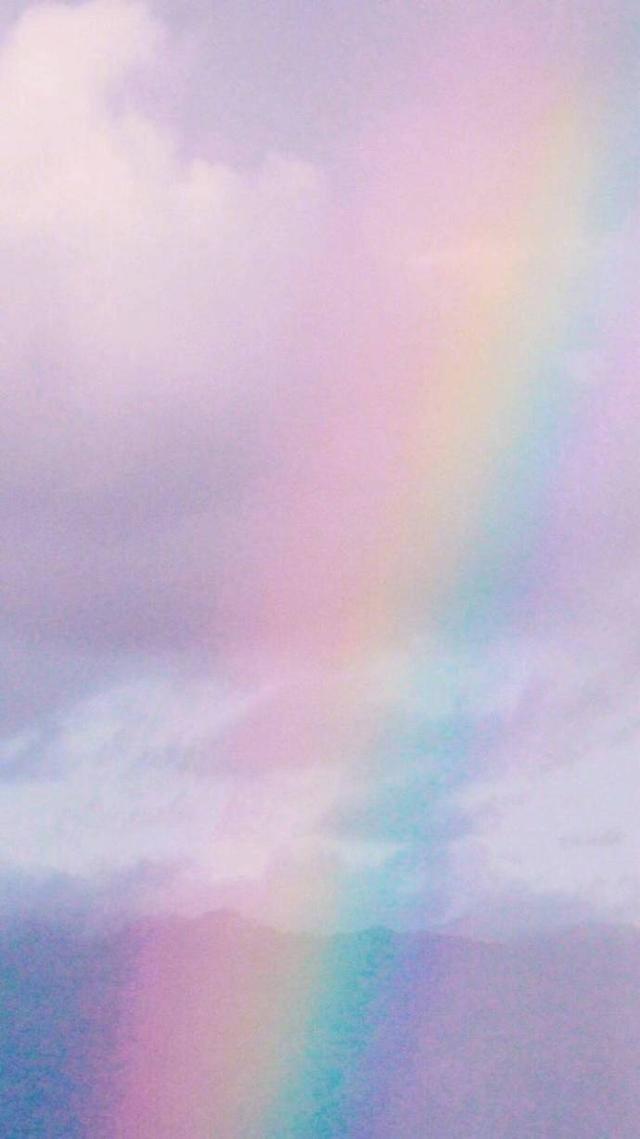 壁纸丨16张彩虹