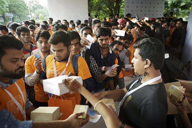 中国手机大促销,印度民众不抵制了,纷纷抢购拿下印度31%的份额