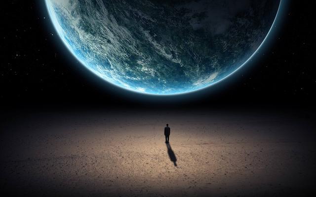 先决绝眼前的问题,把人的寿命达到永生,再谈走出银河系