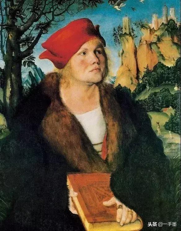 西方名画中美女的妩媚眼神之 老卢卡斯Lucas Cranach