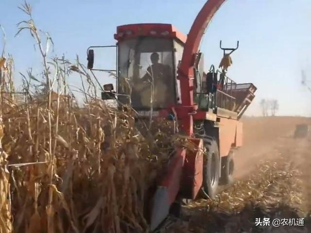 乐为农茎穗玉米收割机
