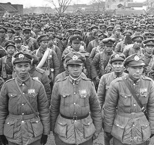 手绘淮海战役作战地图