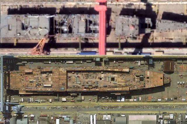 中国核动力航母想象图