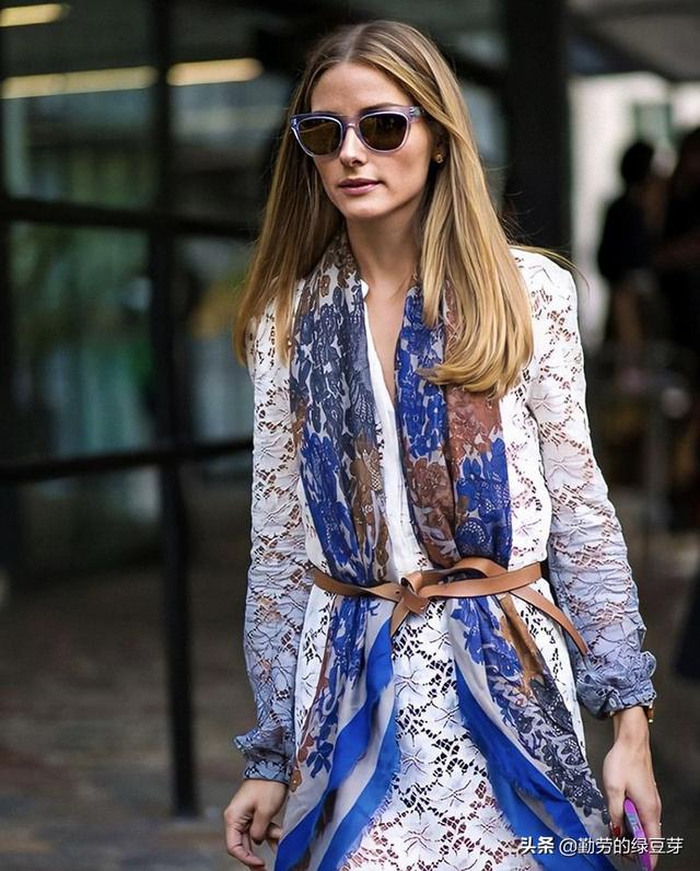 奥利维亚·巴勒莫的时尚法则,以独特穿衣风格,打造大家闺秀风范
