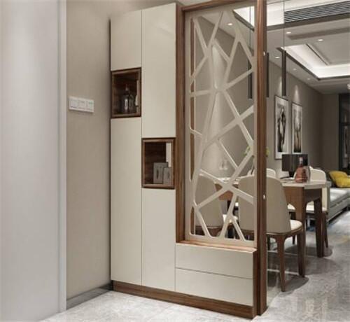 客厅玄关隔断效果图介绍 客厅玄关隔断类型有什么_装修之家网