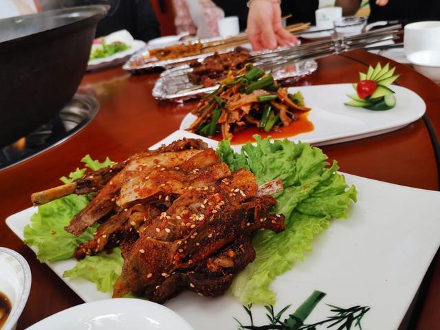 西安回民街美食图片