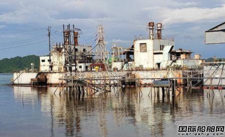 菲律宾一艘发电驳船爆炸!25万升燃油泄漏数百人撤离