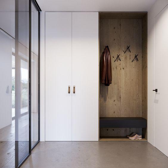 进门柜的风景,玄关柜也有小心机哟