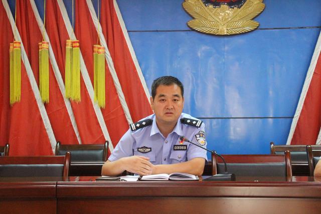 白水县公安局巡特警大队召开纪律作风大整顿落实部署大会